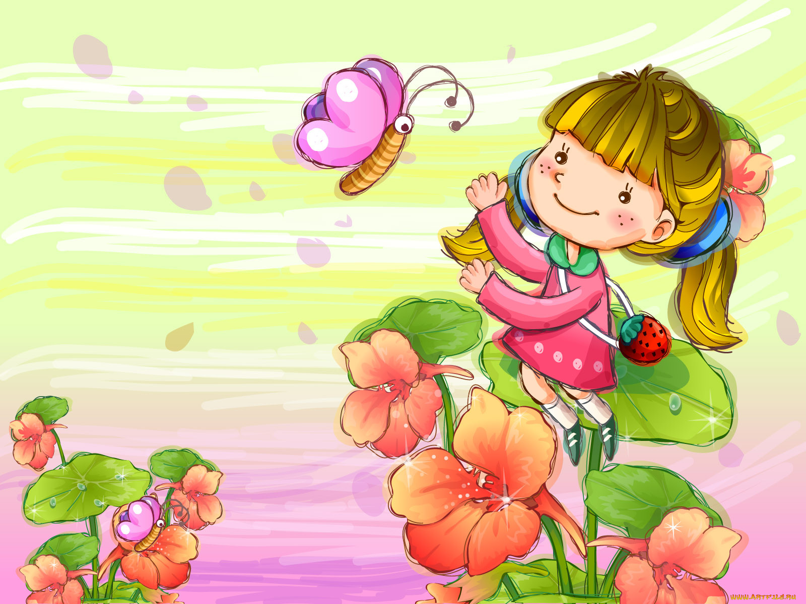 Картинки детские день